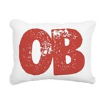 OB Rectangular Canvas Pillow