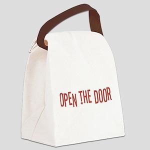 Open the Door Canvas Lunch Bag