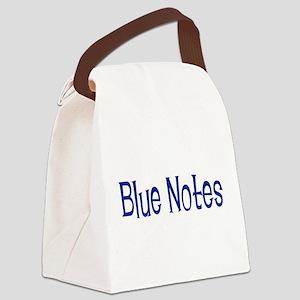 BlueNotes10x8 Canvas Lunch Bag