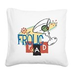 FrolicPad10 Square Canvas Pillow