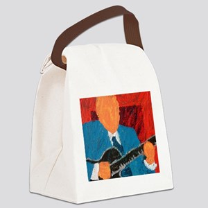 Belly Fiddle 10 Canvas Lunch Bag