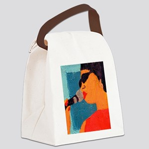 Licking the Chops 10 Canvas Lunch Bag