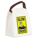 Slow Driver 8 Canvas Lunch Bag