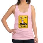 Slow Driver 8 Racerback Tank Top