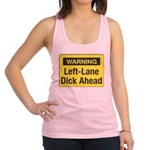 WarningYellow10 Racerback Tank Top