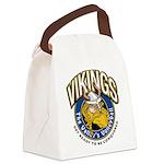 Vikings Logo Canvas Lunch Bag