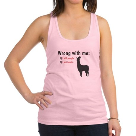 Wrong with Me Racerback Tank Top