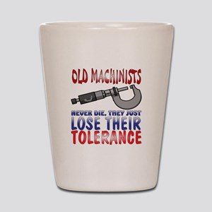 Machinist Shot Glass