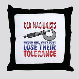 Machinist Throw Pillow