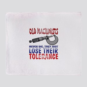 Machinist Throw Blanket