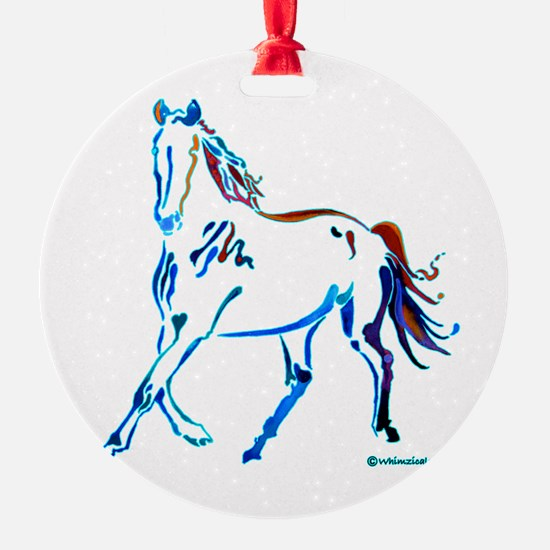 Horse of Many Colors Ornament