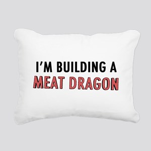 Meat Dragon Rectangular Canvas Pillow
