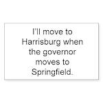 Save Springfield Traffic Sticker (Rectangle 50 pk)