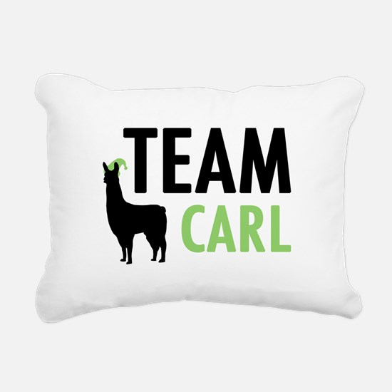 Team Carl Rectangular Canvas Pillow
