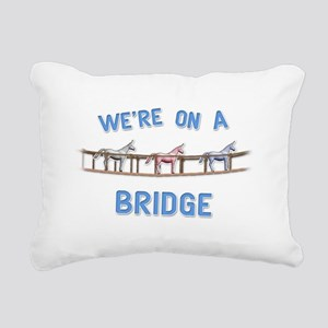 Bridge Rectangular Canvas Pillow