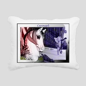 Carousel Rectangular Canvas Pillow