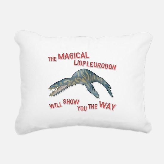 Liopleurodon Rectangular Canvas Pillow