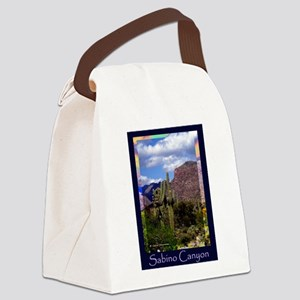 Sabino Canyon Canvas Lunch Bag