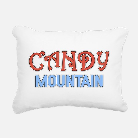 Candy Mountain Rectangular Canvas Pillow