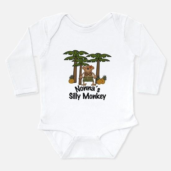 Nonna's Silly Monkey Girl Baby/Toddler bodysuits B