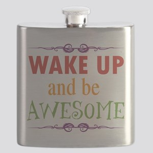 Wake Up and Be Awesome Flask