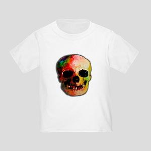 Tie dye skull Toddler T-Shirt