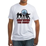 Zombie Response Academy Fitted T-Shirt