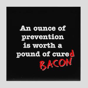 Pound of Bacon Tile Coaster