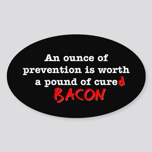 Pound of Bacon Sticker (Oval)