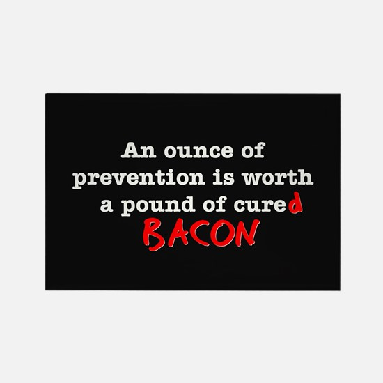Pound of Bacon Rectangle Magnet