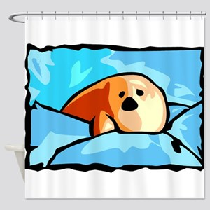 Seal drawing Shower Curtain