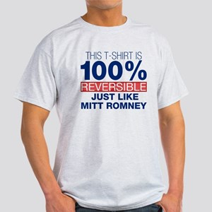 Anti-Romney Reversible Light T-Shirt