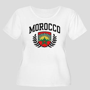 Morocco Women's Plus Size Scoop Neck T-Shirt