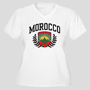 Morocco Women's Plus Size V-Neck T-Shirt