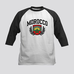 Morocco Kids Baseball Jersey