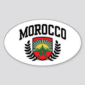 Morocco Sticker (Oval)