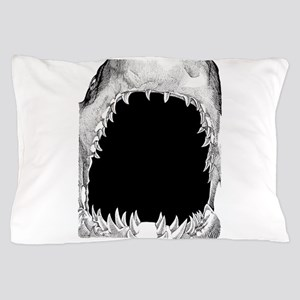 shark mouth Pillow Case