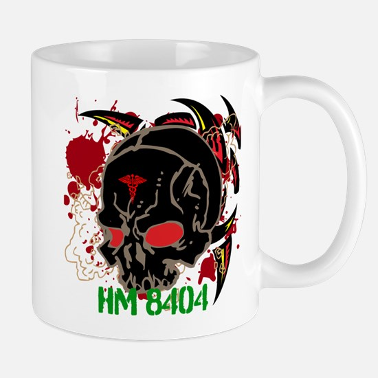 NVG Green and Red Devil Doc Mug