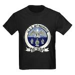 USS McMORRIS Kids Dark T-Shirt