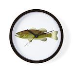 Smallmouth Bass Wall Clock