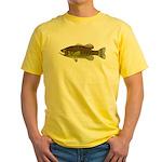 Smallmouth Bass Yellow T-Shirt