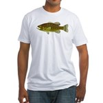 Smallmouth Bass Fitted T-Shirt