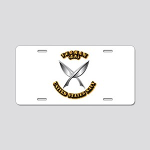 Navy - Rate - YN Aluminum License Plate
