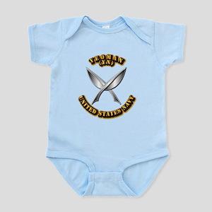 Navy - Rate - YN Infant Bodysuit