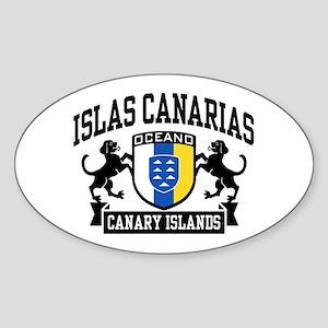 Canary Islands Sticker (Oval)