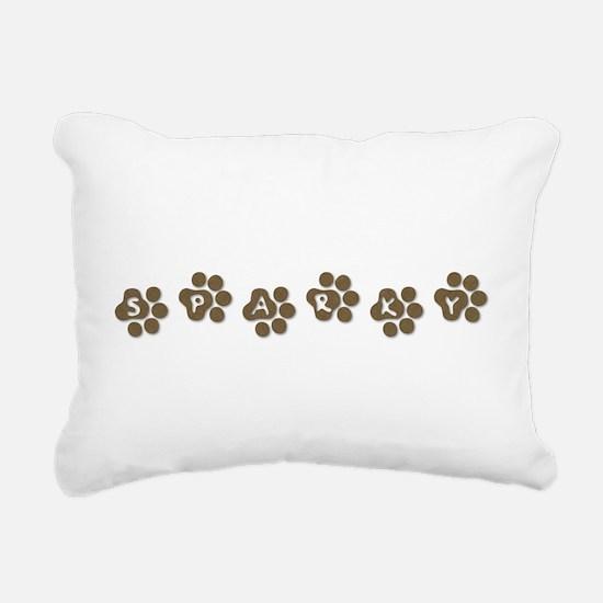 sparky.png Rectangular Canvas Pillow