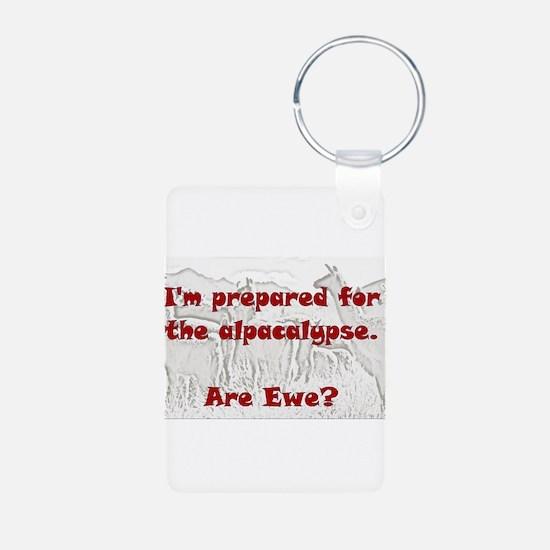 alpacalypse Keychains