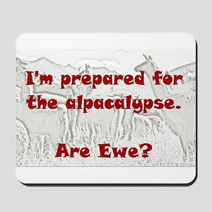alpacalypse Mousepad
