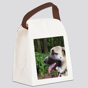 Anatolian in Fern Forest 2 Canvas Lunch Bag