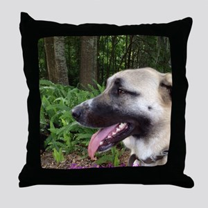 Anatolian in Fern Forest 2 Throw Pillow